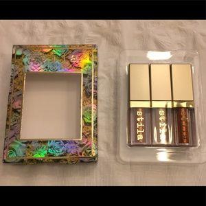 Glitter eyeshadow trio by Stila